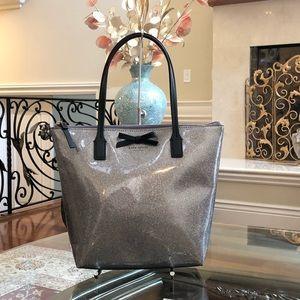 Authentic Kate spade glitter design handbag